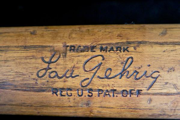 Lou Gehrig 1933/1934 Hillerich & Bradsby Louisville Slugger