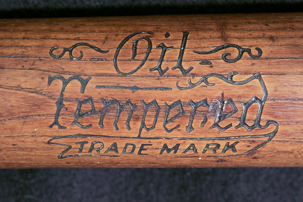 Oil Tempered Trademark; 1916/1922 Dash-Dot-Dash; Early 125 Center Brand