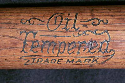 Oil Tempered Trademark; 1916/1922 Dash-Dot-Dash; 125 Center Brand