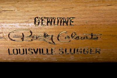Rocky Colavito 1965/1969 Louisville Slugger; Pro Model K55 Bat
