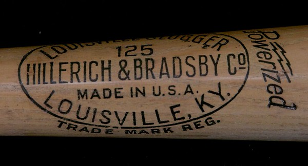 Rogers Hornsby 1946/1948; Louisville Slugger