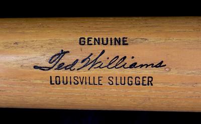 Ted Williams (HOF '66) 1961/1962 Louisville Slugger