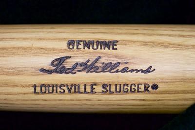 Ted Williams 1974/1979 Louisville Slugger; Pro Model Bat