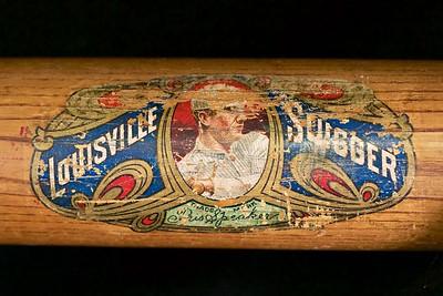 Tris Speaker (HOF '37) 1912/1915 Decal Bat; Dash-Dot-Dash; JF Hillerich & Son Co.