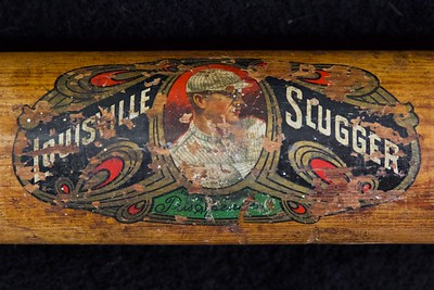 Tris Speaker (HOF '37) 1916/1922 Decal Bat; Dash-Dot-Dash