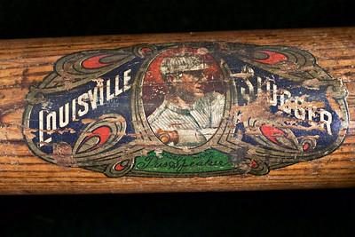 Tris Speaker 1919/1922 Decal Bat; Dash-Dot-Dash