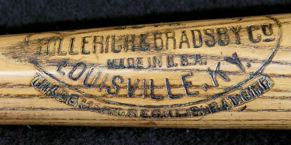 Tris Speaker Decal Bat 1922/1925 Louisville Slugger