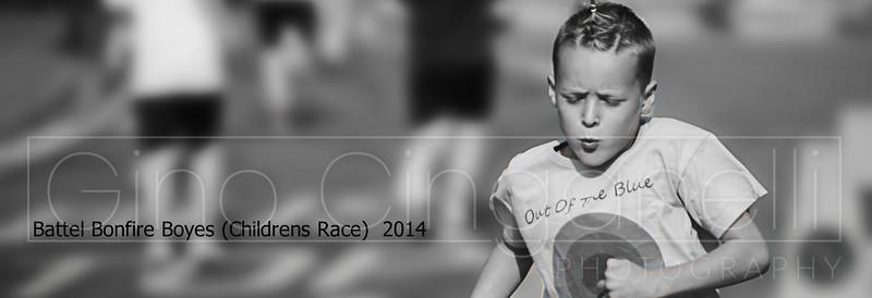 Battel Bonfire Boyes Childrens race 2014