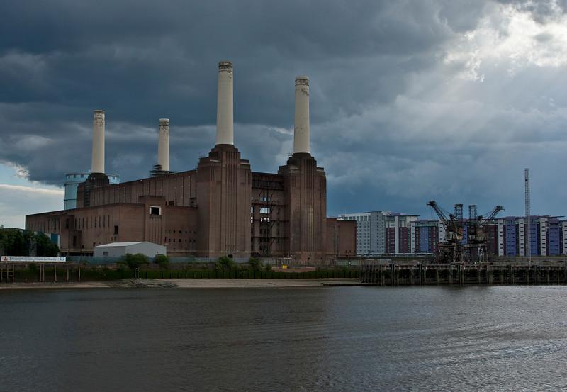 Battersea Power Station in London