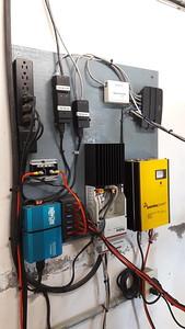Back panel equipment