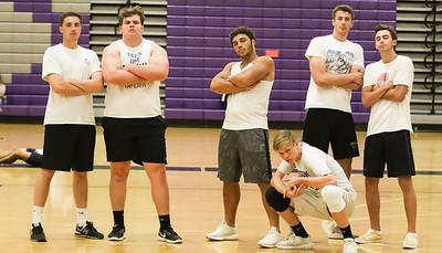 2018 Powderpuff Volleyball - Seniors