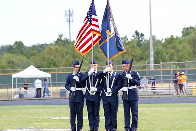 Battlefield Band, Color Guard & JROTC