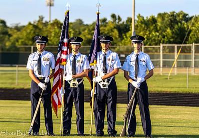 2018 Band, Color Guard & JROTC