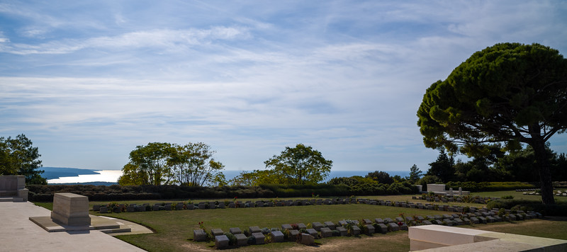Lone Pine Cemetery View
