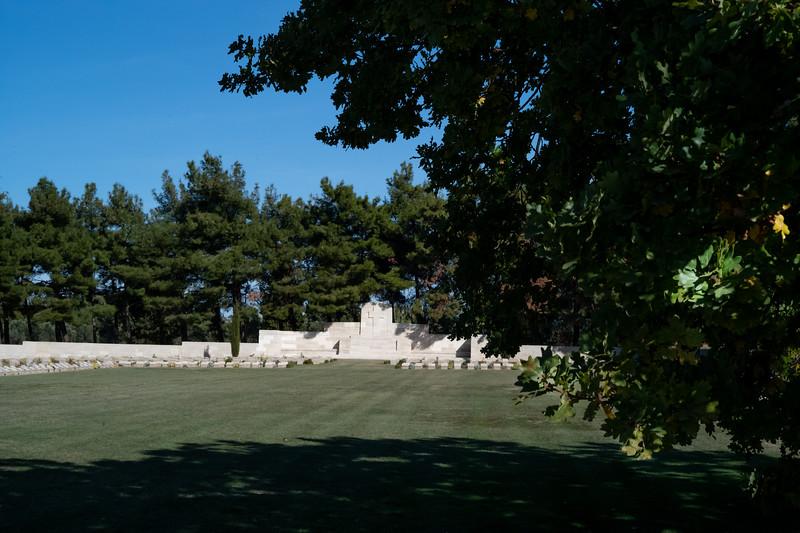 Redoubt Cemetery Oak Memorial