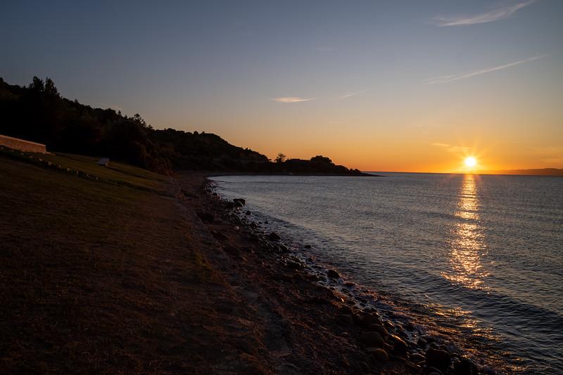 ANZAC Cove at dusk