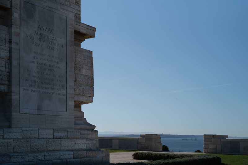 Helles Memorial to the Allied Armies and HMS lost in the Dardenelles