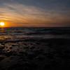 ANZAC beach sunset