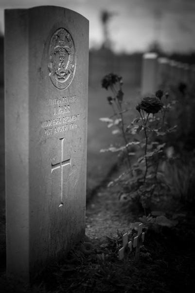 First Fatality, First World War