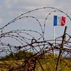 Fort Douaumont, Verdun France commands the land surrounding it.