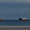 Arromanches - Mulberry Harbour Pontoon Remains