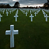 American Cemetary at Omaha beach has 9,387 named graves