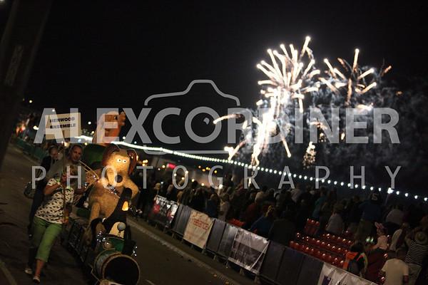 Battle of Flowers Moonlight Parade 2012