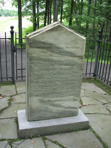 back of the monument
