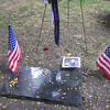 Wider shot of the marker