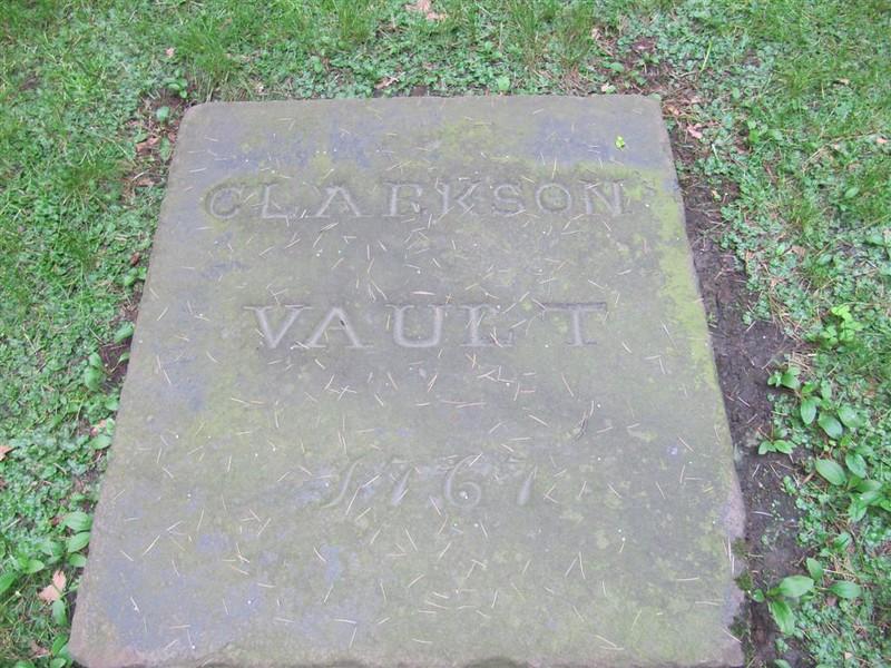 The Clarkson family vault