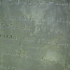 Inscription of his wife, Susanna