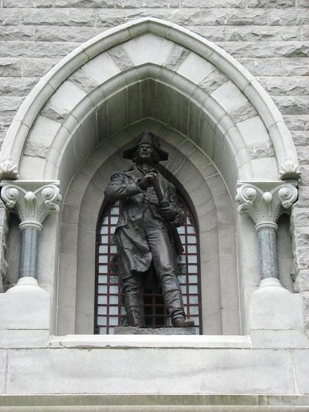 Gen. Horatio Gates, facing north