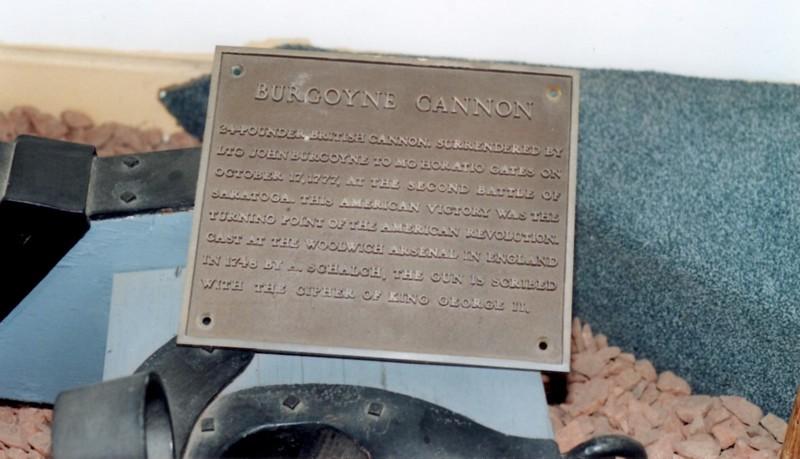 Plaque on the gun at Watervliet Arsenal.