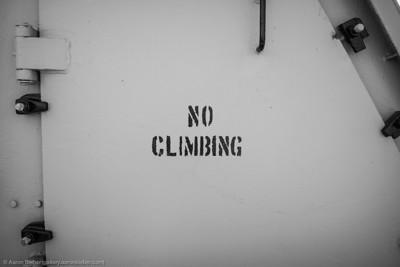 No Climbing II
