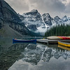 Reflections on Moraine Lake