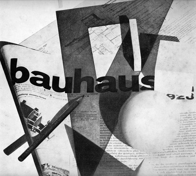 Title page of Bauhaus magazine 1928