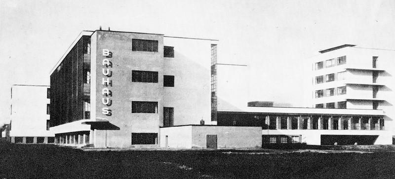 The Famous Bauhaus Building by Gropius