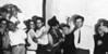 Bauhaus students partying