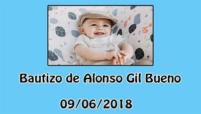 Bautizo de Alonso Gil Bueno