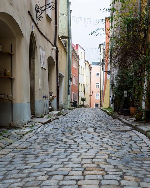 Crooked in Passau