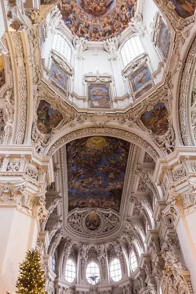 Ceiling Detail in Dom St Stephen, Passau