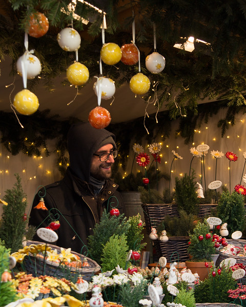 Christmas Market at Schonbrunn Palace