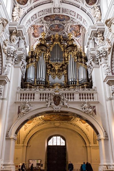 Pipe Organ in Dom St Stephen, Passau