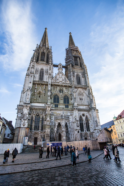 Dom St Peter's Cathedral in Regensberg, Germany