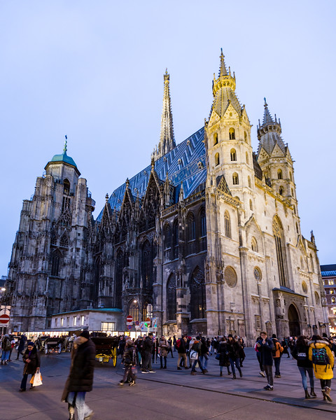 St Stephen's Cathedral in Vienna
