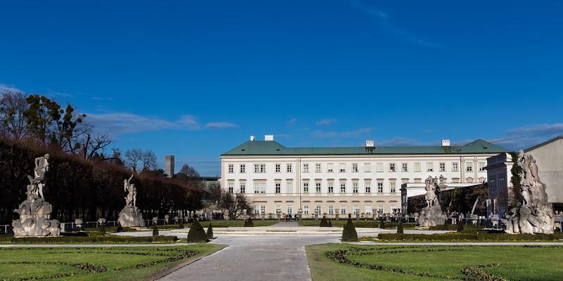 Schloss Mirabell Palace in Salzburg