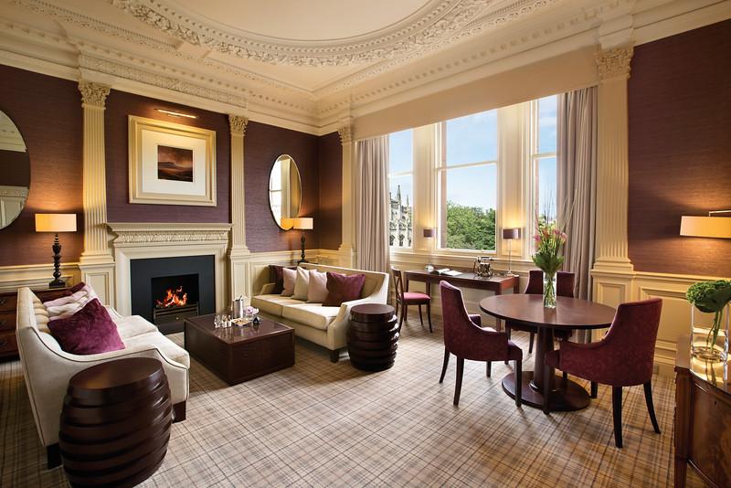 Waldorf Astoria Edinburgh - Alexander Graham Bell / Living Room