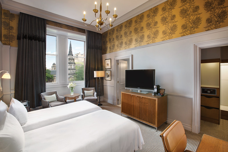 Waldorf Astoria Edinburgh - Twin Deluxe with View
