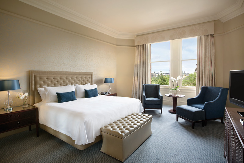 Waldorf Astoria Edinburgh - Queen Deluxe Room with View