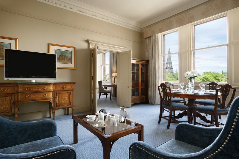 Waldorf Astoria Edinburgh - Caledonian Suite / Living Room